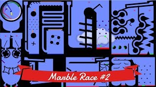 Marble Race #2: Elimination - 12 colors | Bouncy Marble
