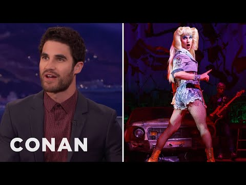 Darren Criss Thinks He Looks Better As A Woman  - CONAN on TBS