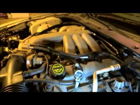 2005 Lincoln Ls Spark Plug And Coil Install Part 1 Youtube