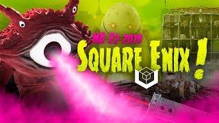 SQUARE ENIX na E3 2019 - conferência ao vivo em português
