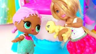 Мультик Куклы Лол! Куклы Челси и Лол готовят Барби на Первое Свидание #Барби Мультик