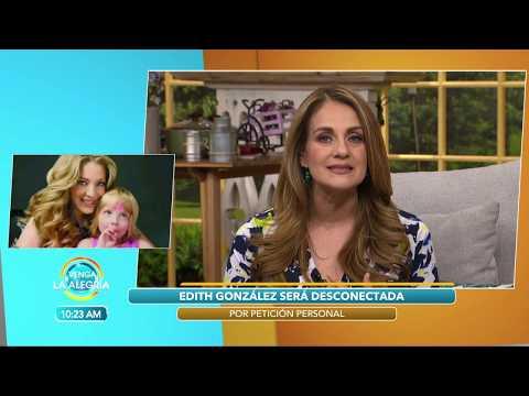 ¡ÚLTIMA HORA! ¡Edith González SIGUE CON VIDA!