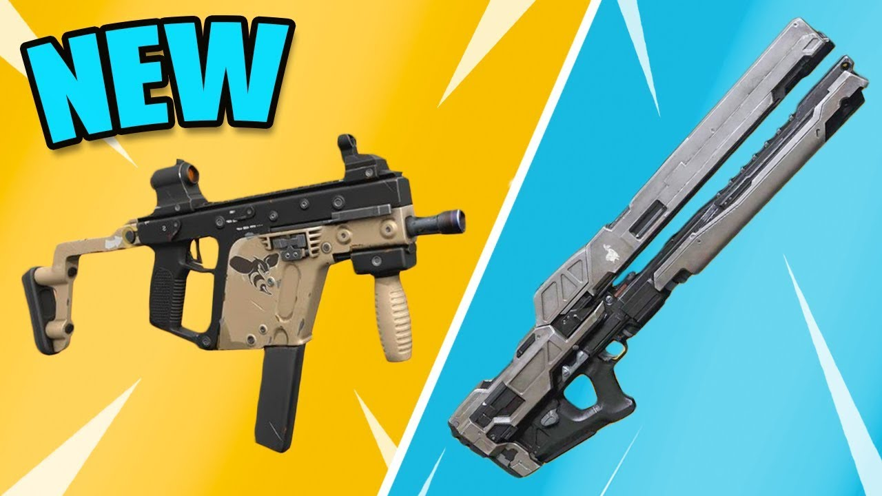 10 Fortnite Season 6 Legendary Guns That Might Come Soon Youtube