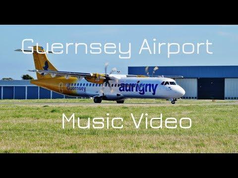 Guernsey Airport - An Aviation Music Video 1080p HD