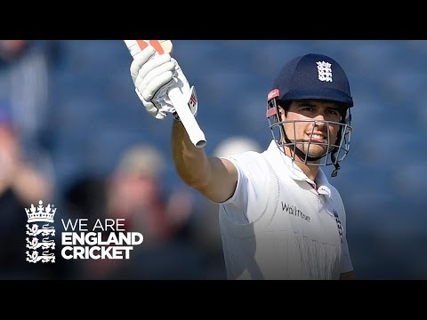 Alastair Cook hits 10,000 Test runs - England v Sri Lanka highlights