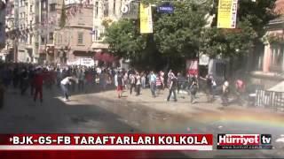 Taraftar Grupları Taksim Gezi Parkı için Birleşti ÇARŞI UltrAslan GFB