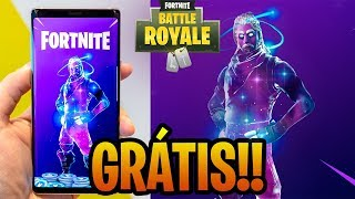 HOW DID I GET THE GALAXY SKIN FOR FREE? -FORTNITE BATTLE ROYALE