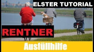 Steuererklärung Rentner | Elster Tutorial | Steuererklärung selber machen