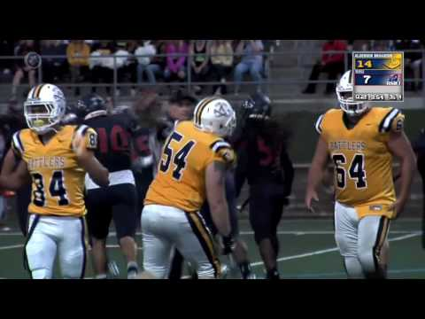 RMU vs Alderson Broaddus - Football Highlights