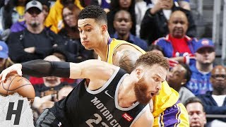 Los Angeles Lakers vs Detroit Pistons - Full Game Highlights | March 15, 2019 | 2018-19 NBA Season