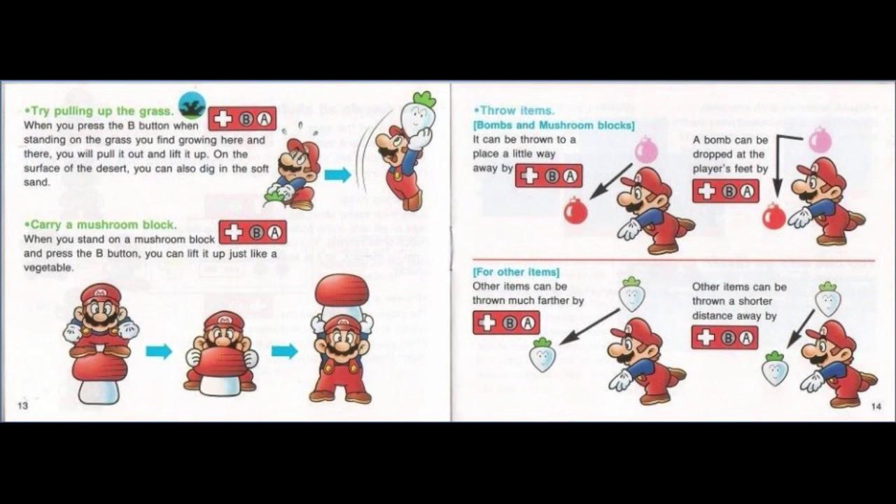 el manual de super mario bros 2 youtube rh youtube com super mario bros 2 manuel super mario bros 2 manual birdo