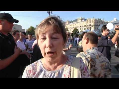 Police crackdown on Kremlin protest