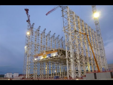 VSL Heavy Lifting: ITER Roof Lift France