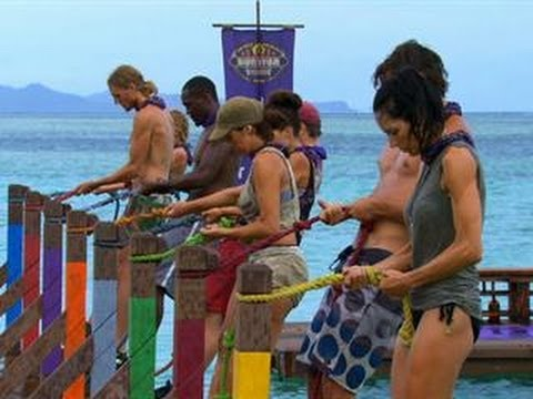 Survivor: Blood vs. Water - Immunity/Reward Challenge:Back Splash