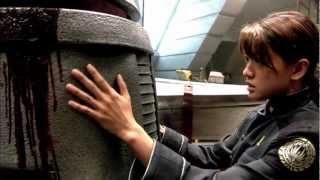 Battlestar Galactica 2004-2009 Taiko Drum Blipvert Montage - every intro clip 11m10s - 1080p