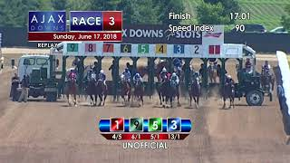 Ajax Downs 06 17 2018 Race 3