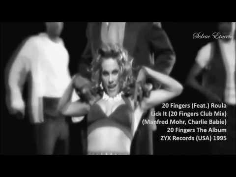 20 Fingers (Feat.) Roula - Lick It (20 Fingers Club Mix) Official Video
