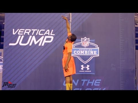 My Vertical Leap and 40yd Dash with Patrick Peterson! – NFL Combine with Under Armour!