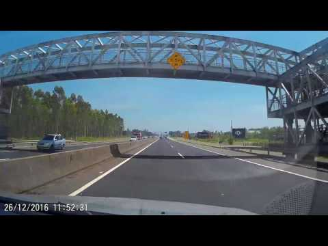Porto Alegre ► Florianópolis (Canasvieiras) - Time Lapse Drive (10x) - 60FPS