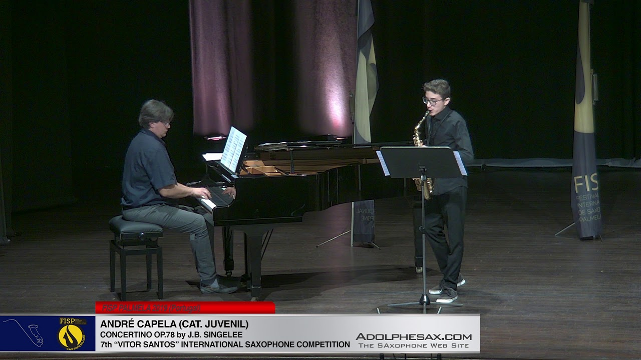 FIS PALMELA 2019 - Andre Capela - Concertino Op78 by J B  Singelee