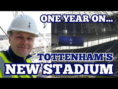 TOTTENHAM'S NEW STADIUM ONE YEAR ON: Exclusive Unseen Footage, Changing Rooms, Tunnel Club (2018/19)