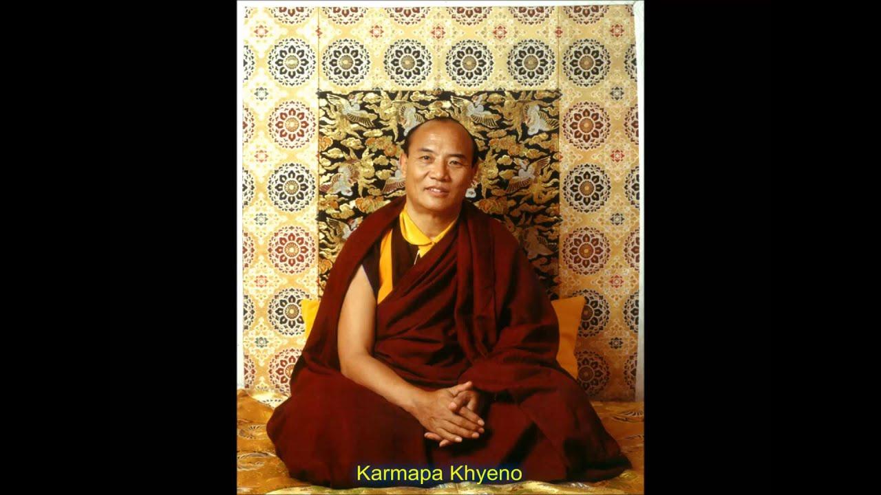 Karmapa Khyeno - YouTube