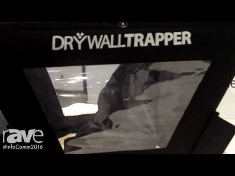 InfoComm 2016: DryWall Trapper Shows Its Solution for Cutting into a Drywall Ceiling
