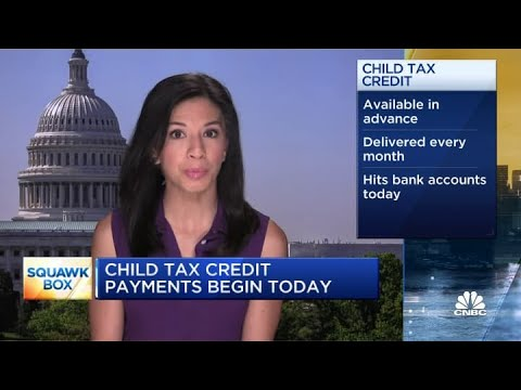 First child tax credit payments have been sent. Here's what you need ...