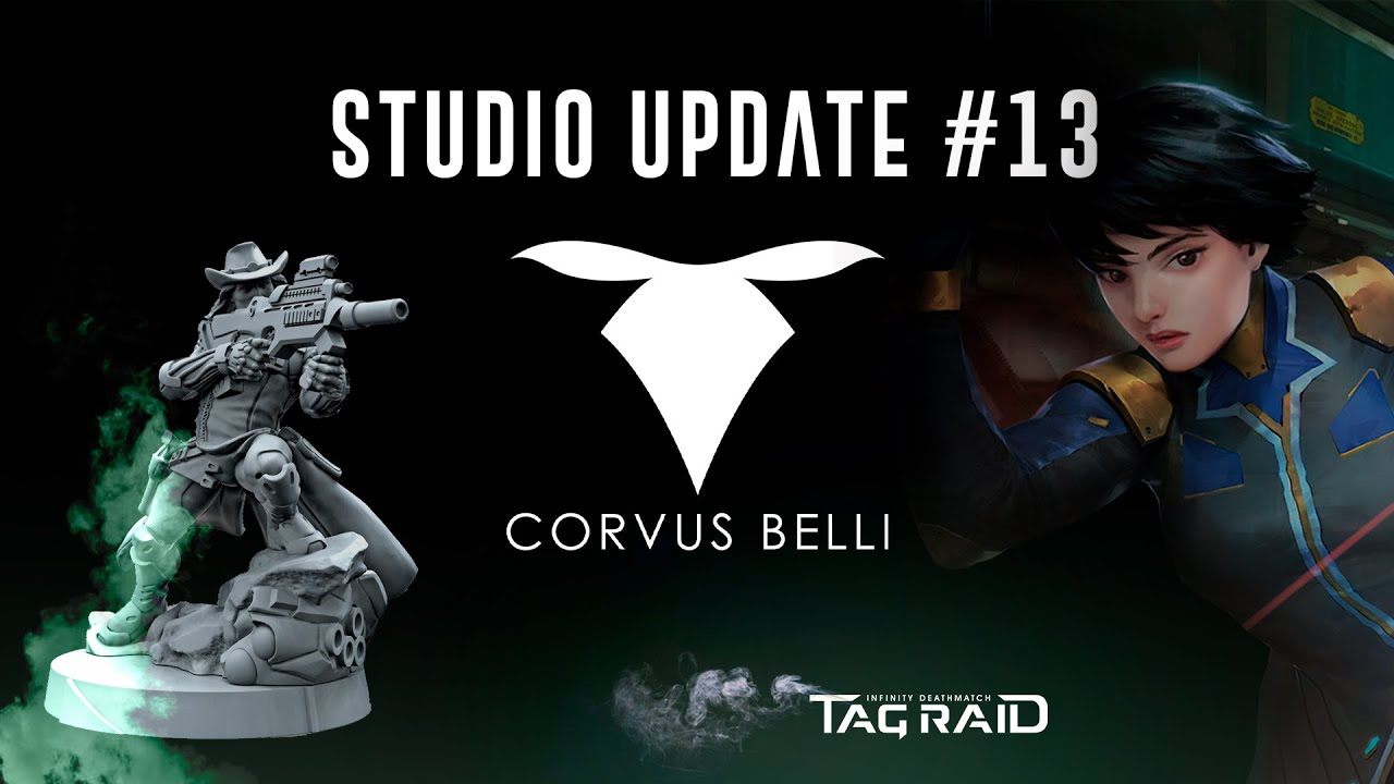 [Studio Update] #13 Defiance expansions unboxing and TAG Raid reveals!