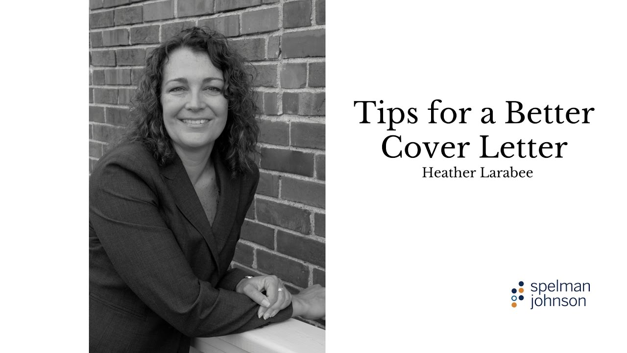 Tips For A Better Cover Letter