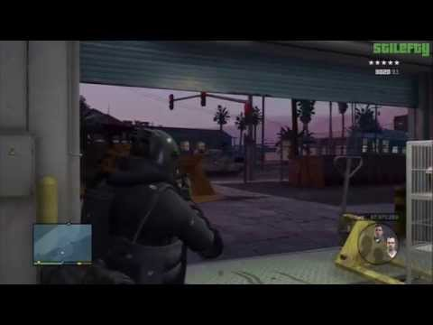 GTA 5 PS3 - Mission #53 - The Paleto Score [100% - Gold Medal]