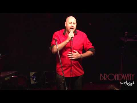 """Broadway Unplugged - Matthew Cavanagh """"This Is The Moment"""""""