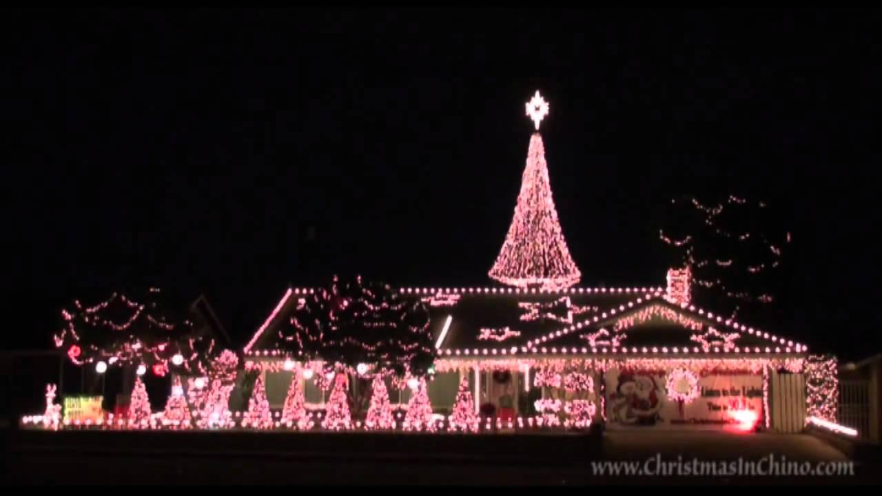 carol of the bells 2009 christmas lights chino california - Chino Christmas Lights