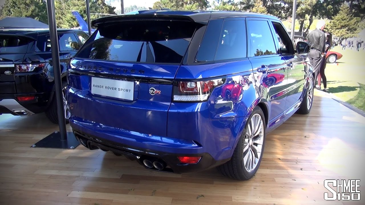 WORLD DEBUT Range Rover Sport SVR Intro and Revs