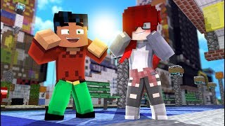Superhero Steve and Anna - Episode 1 -NEW SERIES- (minecraft Roleplay)