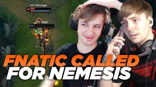LS | FNC vs S04 Analysis | FNATIC Called Me For Nemesis After This Happened... ft. Nemesis