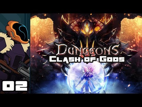 Let's Play Dungeons 3: Clash of Gods DLC - PC Gameplay Part 2 - Overwhelming Horde
