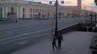 Фото LIVE CAMERA Nevskiy Avenue St. Petersburg Russia. Невский пр. Санкт-Петербург