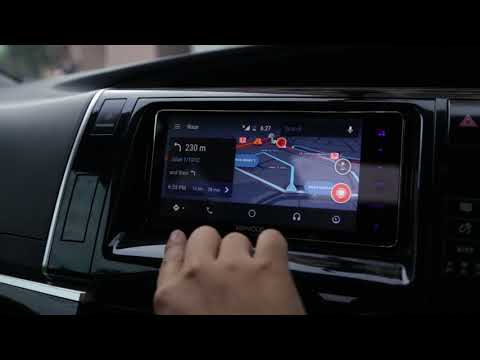 Toyota Estima with Malaysia Radio & Android Auto by Kenwood