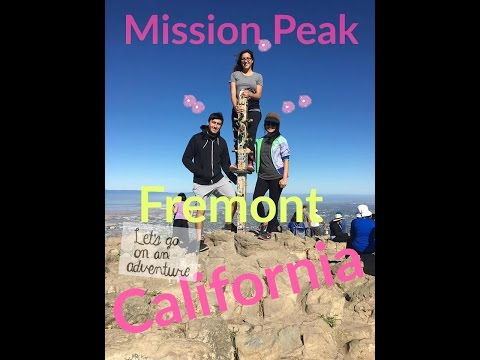 Mission Peak Hiking trail - Fremont California