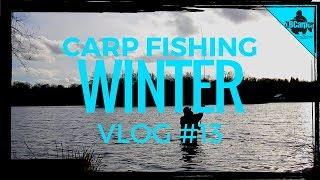 CARP FISHING IN WINTER - THE PARK LAKE VLOG #13 😀