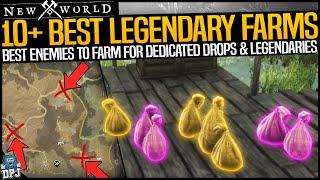 New World: 10+ BËST LEGENDARY FARMS - How To Get Legendaries EASY - Lv 30+ Best Dedicated Loot Drops