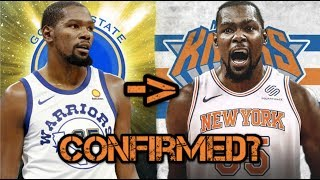 KD TO KNICKS CONFIRMED?!  (Why KD is coming to the Knicks in the 2019-2020 season)