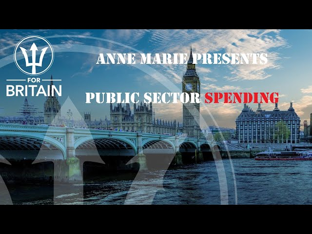 Anne Marie Presents: Public Sector Spending
