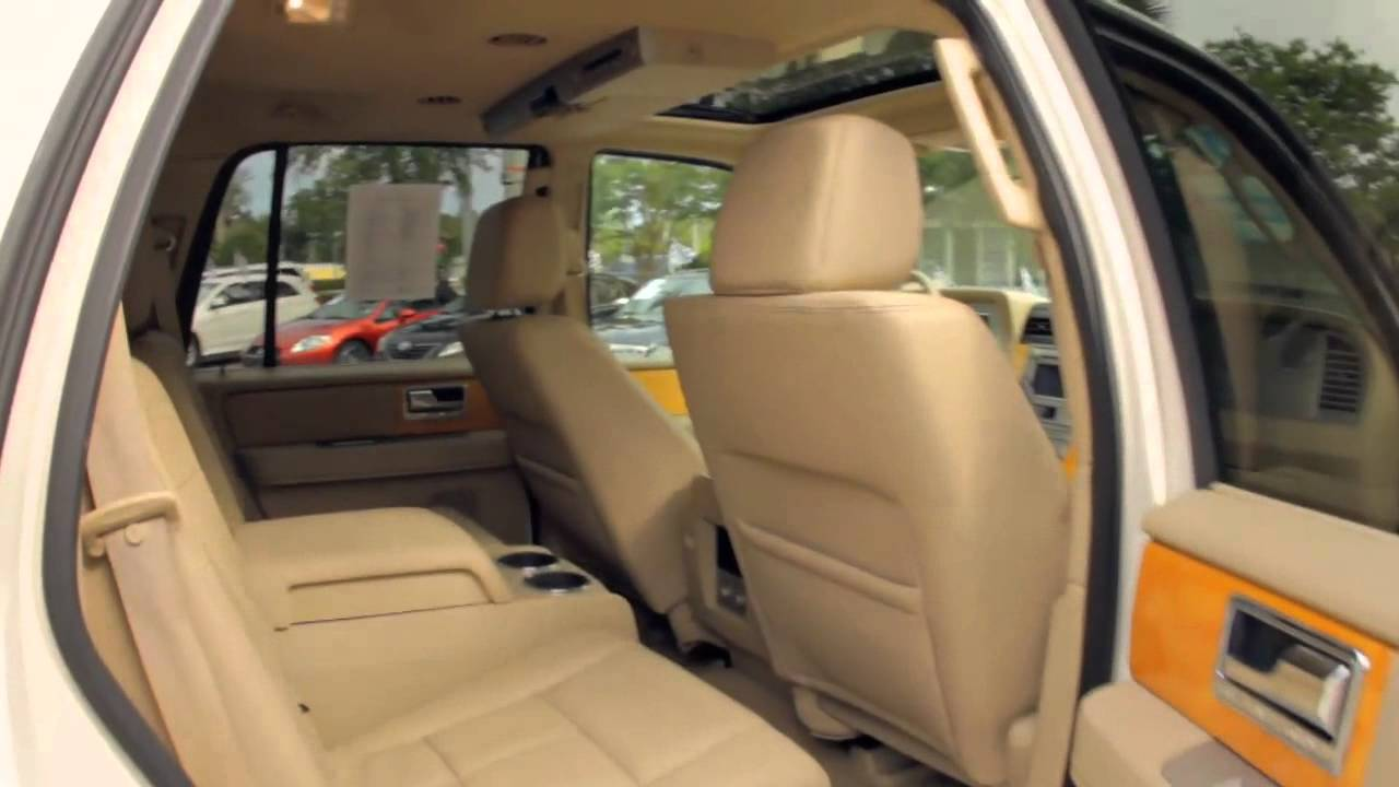 Autoline s 2008 lincoln navigator walk around review test drive youtube