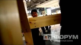 видео Подшипник » Строительство дома из оцилиндрованного бревна
