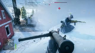 Battlefield V - Domination On Narvik Map: Medic Sten & Suomi KP-31, Med Packs Gameplay (2018)