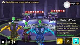 Lol bullshit fail on boss summoner war toah79 2xjultan n dark yeti