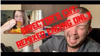 DIRECTOR&#39S CUT  Chantal Marie (Foodie Beauty) almost died while eating noodles...  REACT ENDING