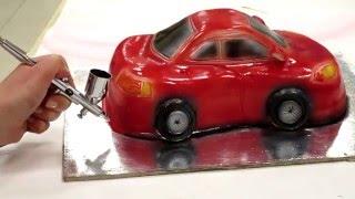 """3D-торт """"Тачки"""" мастер-класс"""